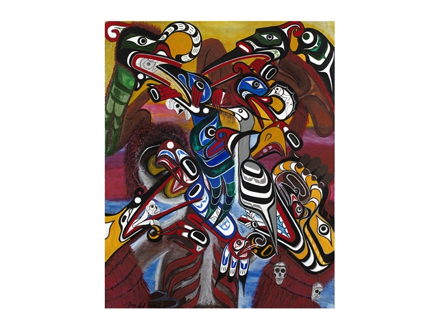 * Spirits of the Hamatsa - Limited Edition Giclee on Canvas
